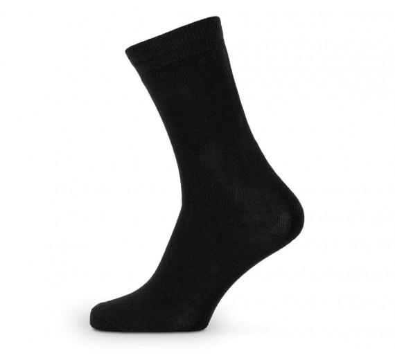 Sorte sokker i økologisk bomuld