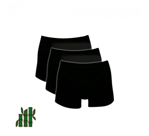 Sorte Trunks / Boxershorts Bambus - Str. 2XL