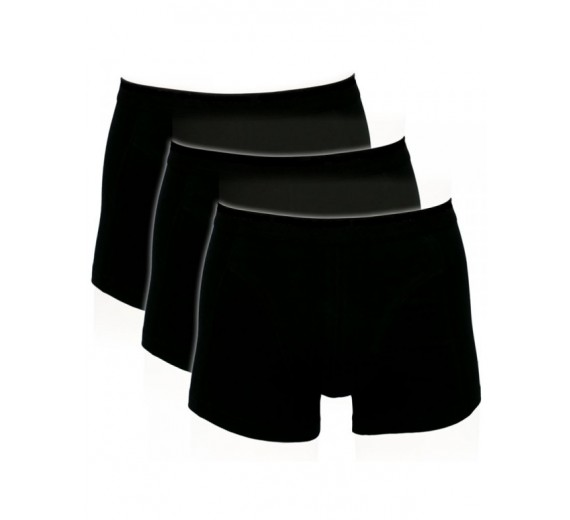 Sorte Trunks / Boxershorts (Bomuld) - Str. 3XL