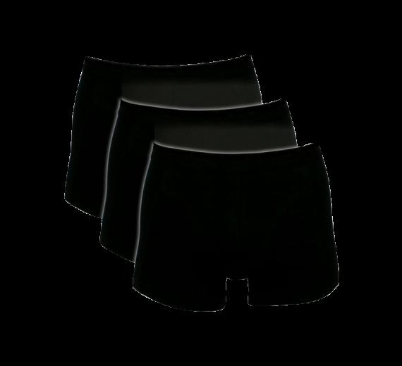 Sorte Trunks / Boxershorts (Bomuld) - Str. M