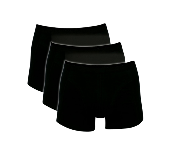 Boxershorts - Sorte Trunks Str. Small