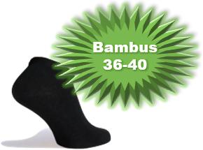 BambusAnkelstrmperKorteStrmperSortStr3640-20
