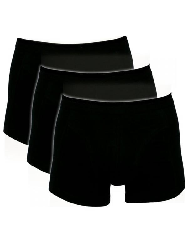 Sorte Trunks / Boxershorts (Bomuld) - Str. 5XL