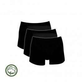 Sorte Trunks / Boxershorts (Bomuld) - Str. 2XL