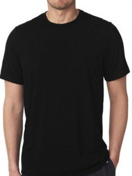 Sorte T-Shirts - Str. 2XL
