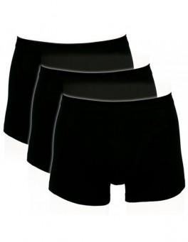 Sorte Trunks / Boxershorts (Bomuld) - Str. 4XL