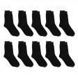 10 par sorte sokker (bomuld), str. 36-40